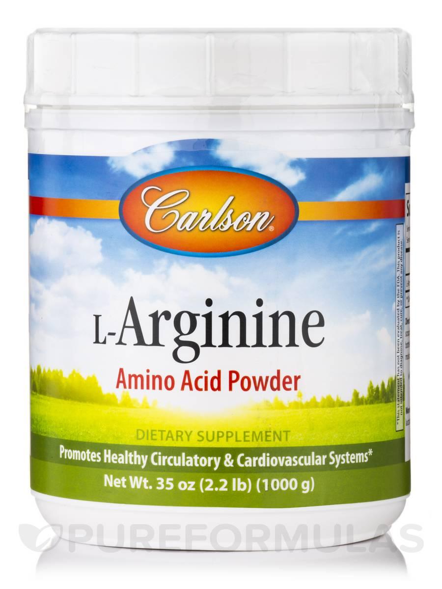 L-Arginine Powder - 2.2 lbs (35 oz / 1000 Grams)