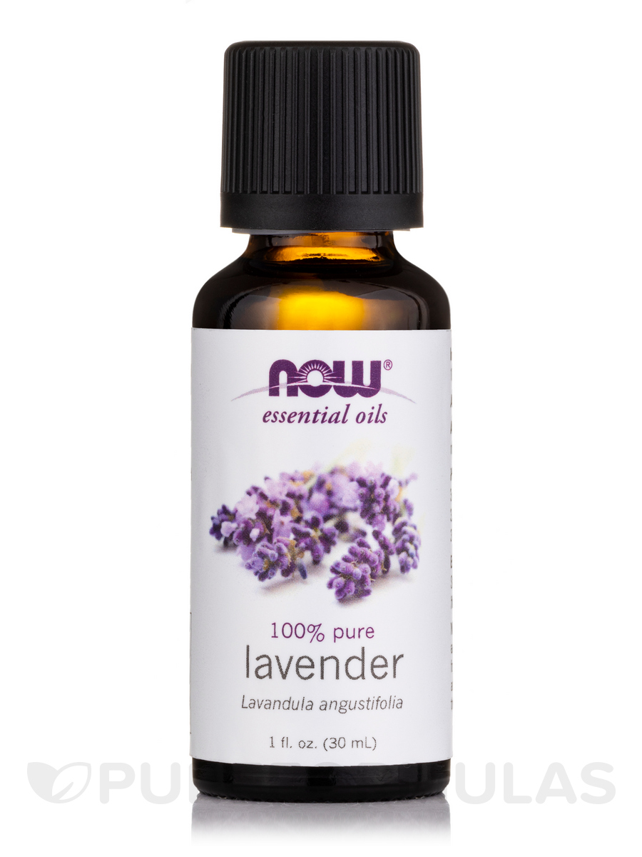 NOW® Essential Oils - Lavender Oil - 1 fl. oz (30 ml)