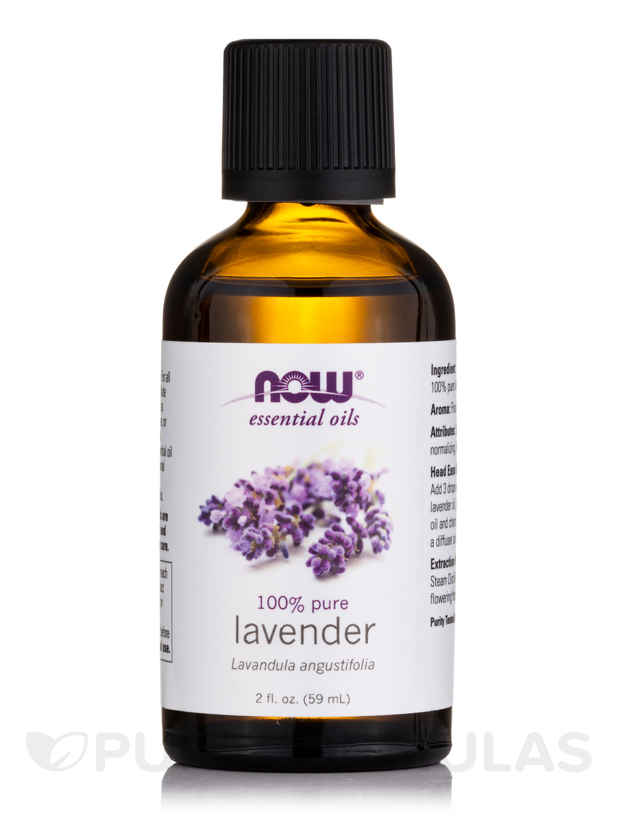 NOW® Essential Oils - Lavender Oil - 2 fl. oz (59 ml)