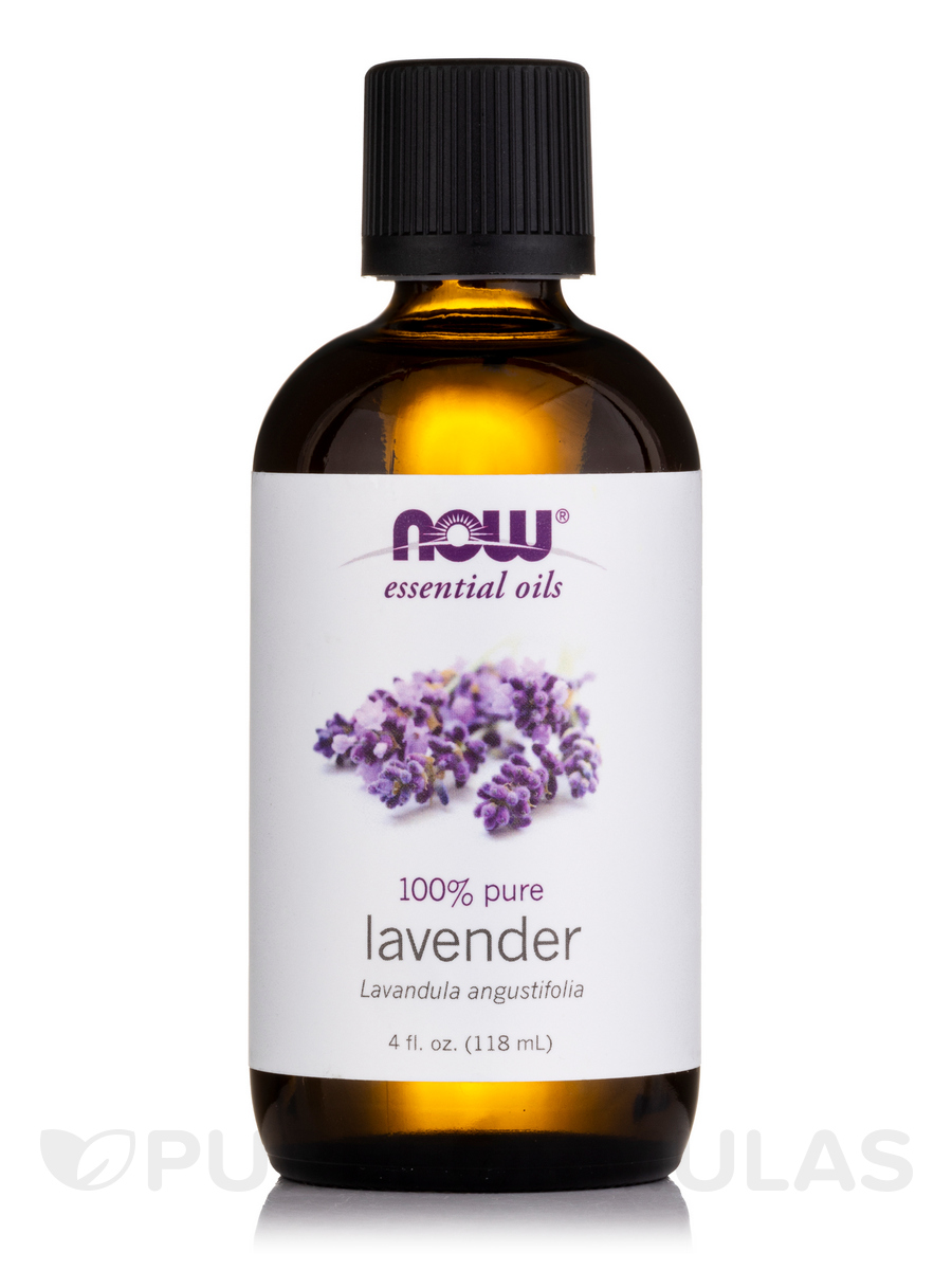 NOW® Essential Oils - Lavender Oil - 4 fl. oz (118 ml)