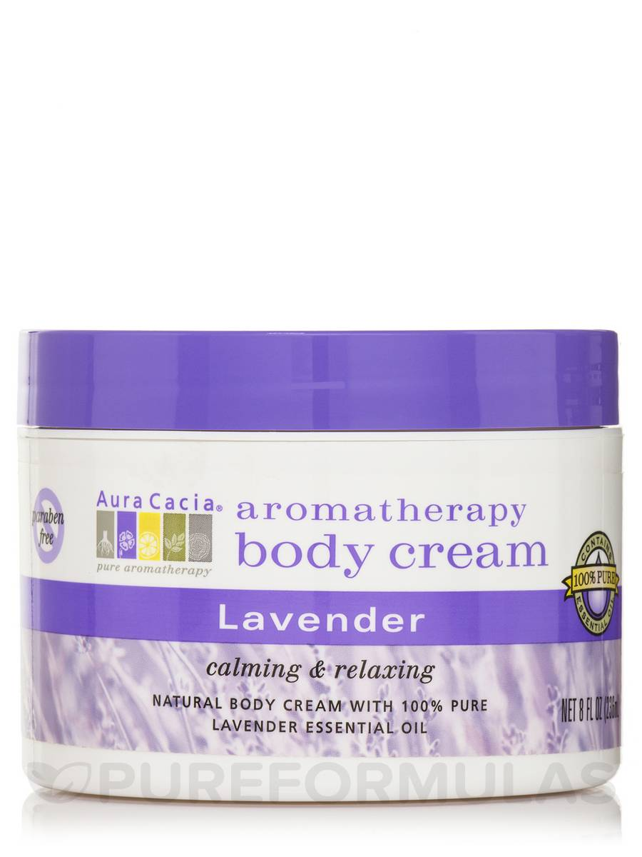 Lavender Aromatherapy Body Cream - 8 fl. oz (236 ml)
