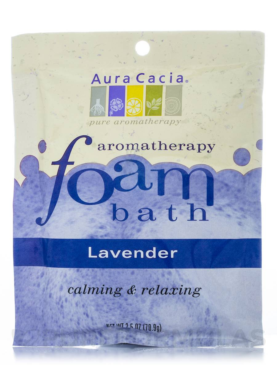 Lavender Aromatherapy Foam Bath - 2.5 oz (70.9 Grams)