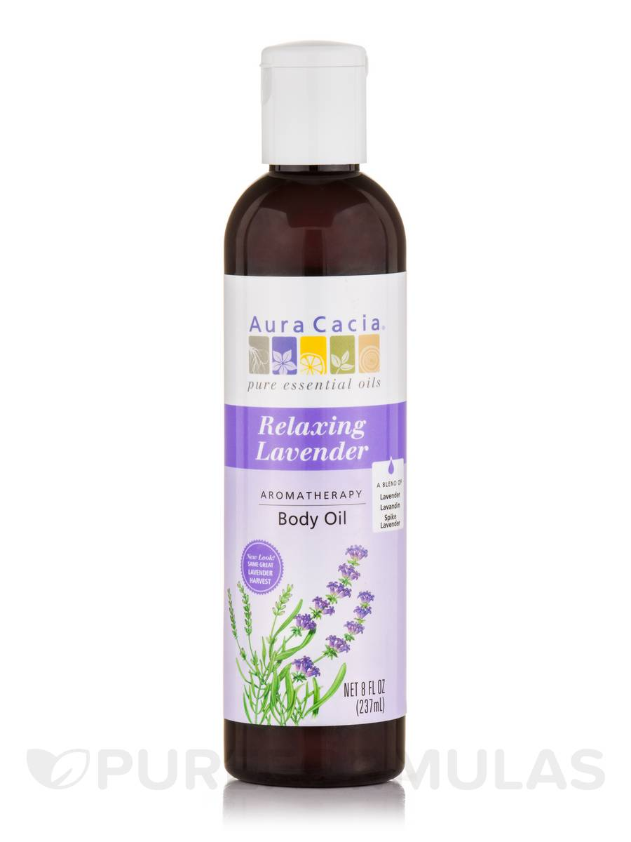 Lavender Harvest Aromatherapy Body Oil - 8 fl. oz (236 ml)