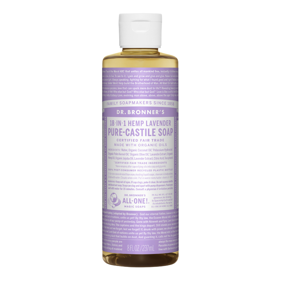 Lavender Oil Pure Castile Liquid Soap - 8 fl. oz (237 ml)