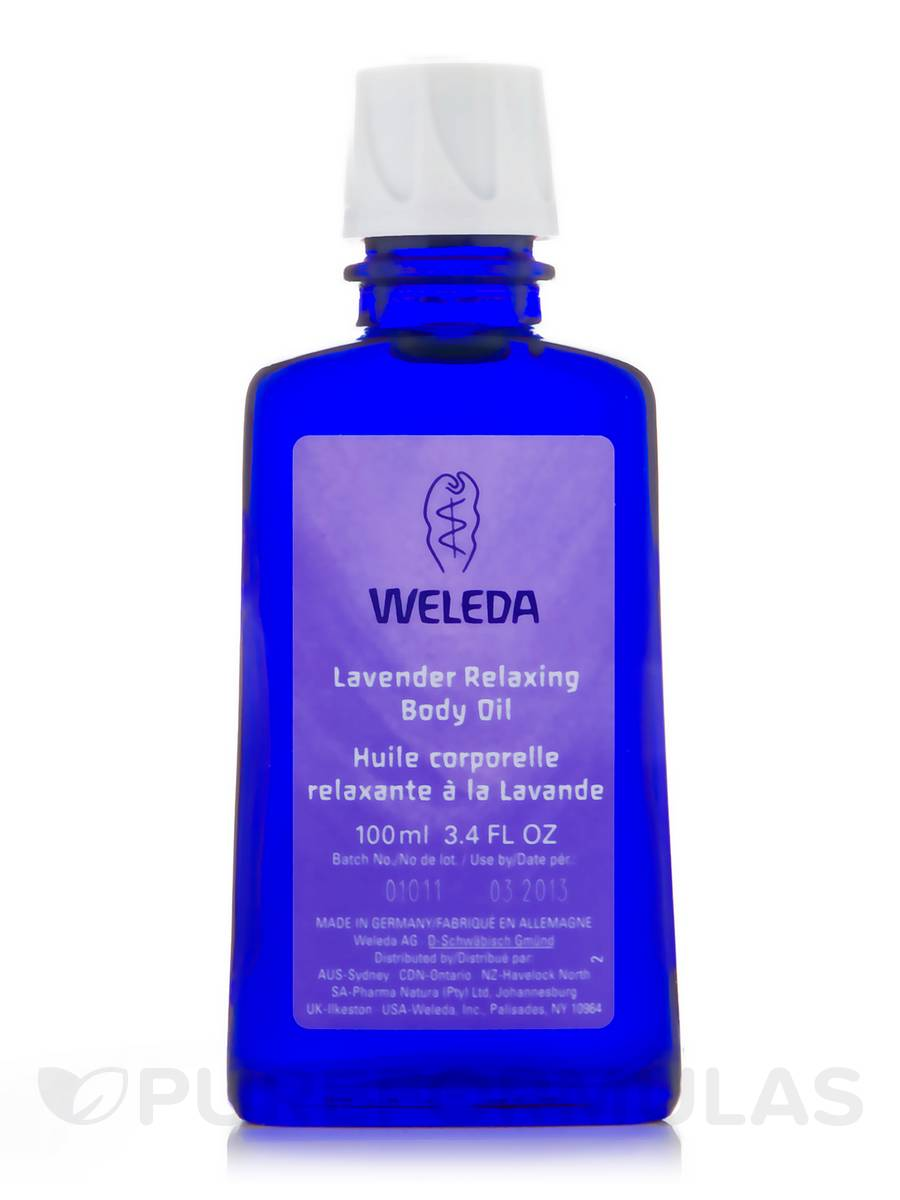 Lavender Relaxing Body Oil - 3.4 fl. oz (100 ml)