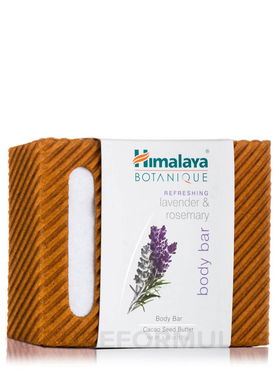 Lavender & Rosemary Cleansing Bar - 4.41 oz (125 Grams)