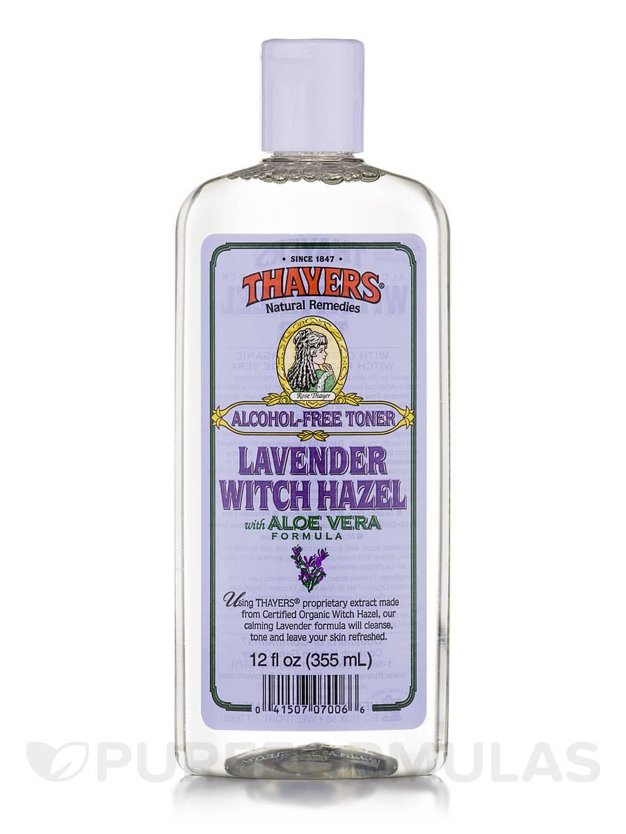 Witch Hazel Toner With Aloe Vera Lavender Alcohol Free 12 Fl