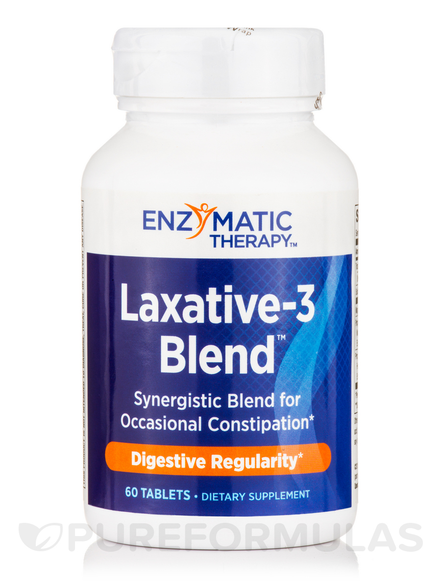 Laxative-3 Blend - 60 Tablets