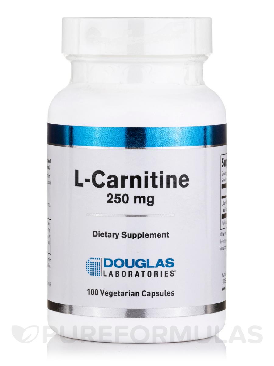 L-Carnitine 250 mg - 100 Capsules