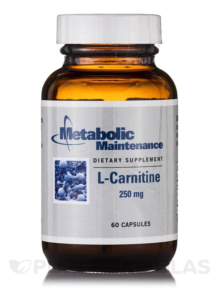 L-Carnitine 250 mg - 60 Capsules