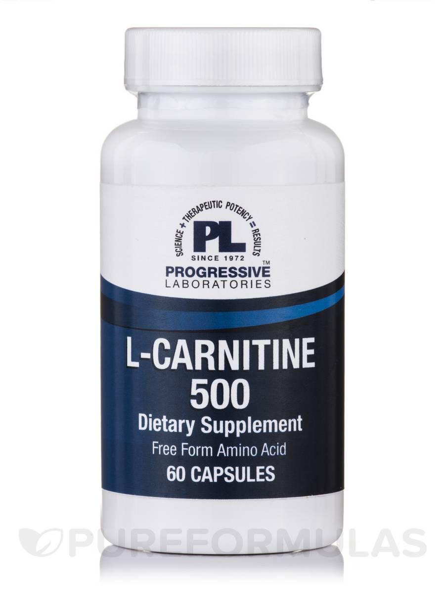 L-Carnitine 500 - 60 Capsules