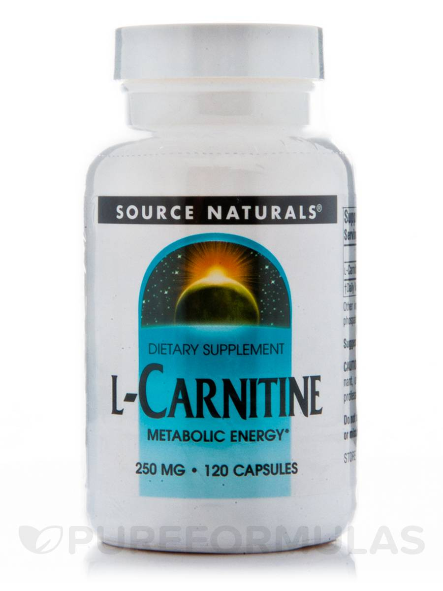L-Carnitine Fumerate 250 mg - 120 Capsules