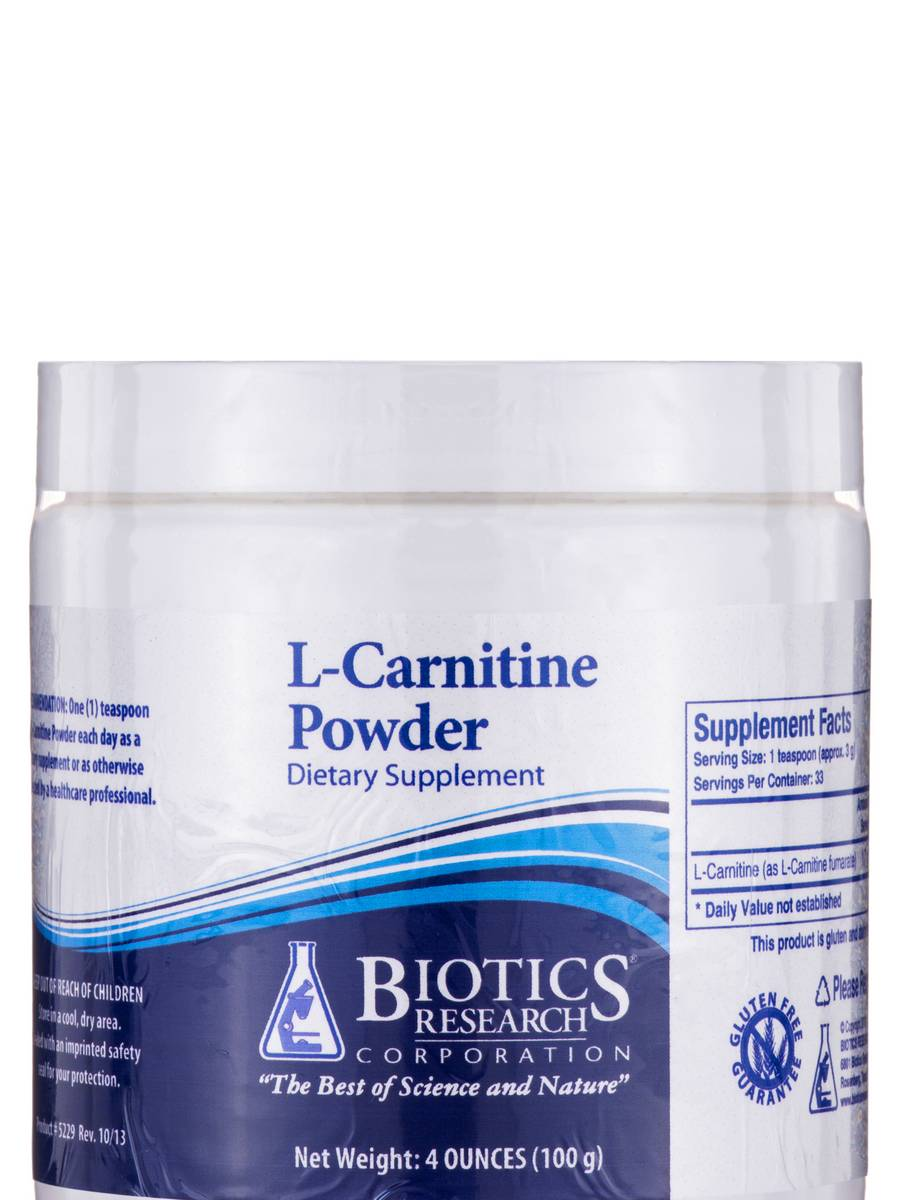 L-Carnitine Powder - 4 oz (100 Grams)