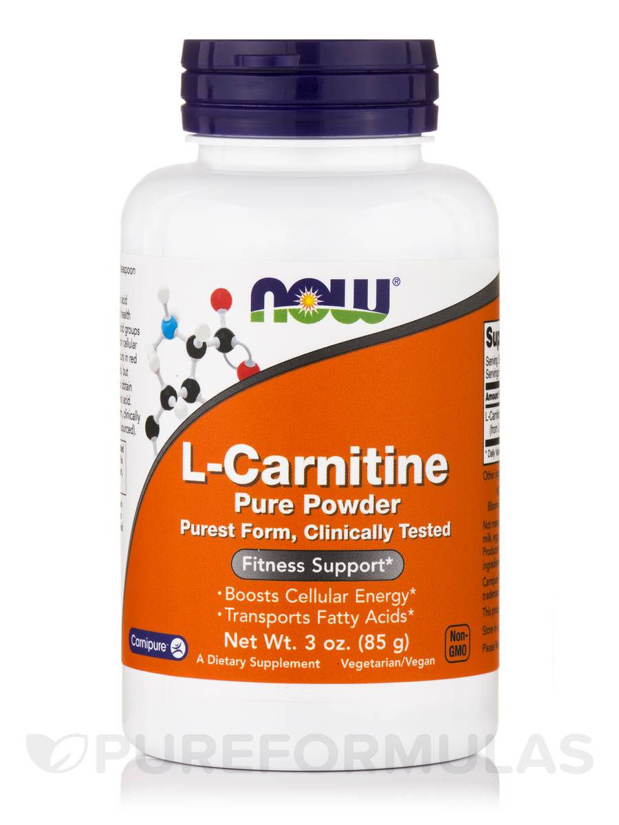 L-Carnitine Pure Powder - 3 oz (85 Grams)