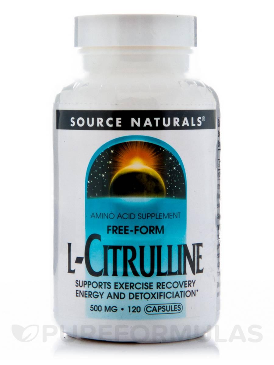 L-Citrulline 500 mg - 120 Capsules