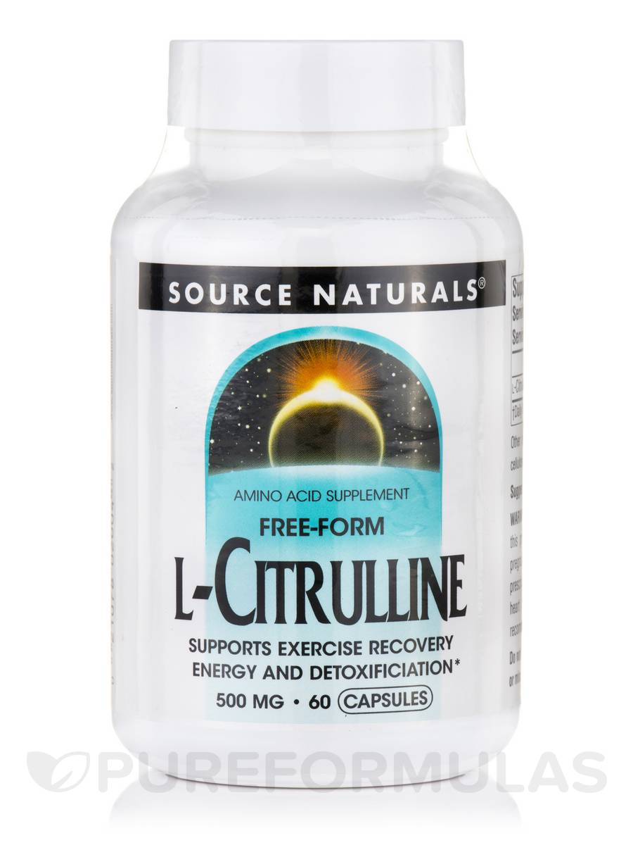 L-Citrulline 500 mg - 60 Capsules