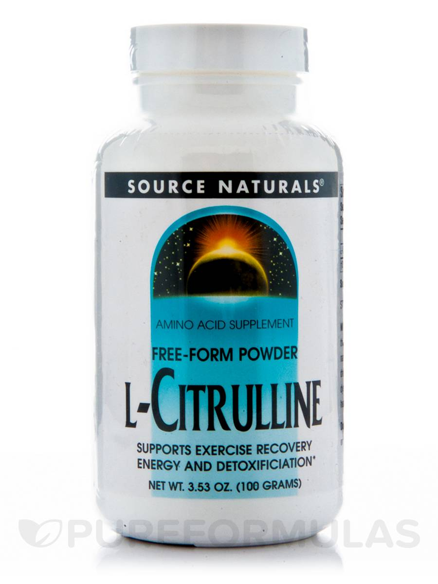 L-Citrulline Powder - 3.53 oz (100 Grams)