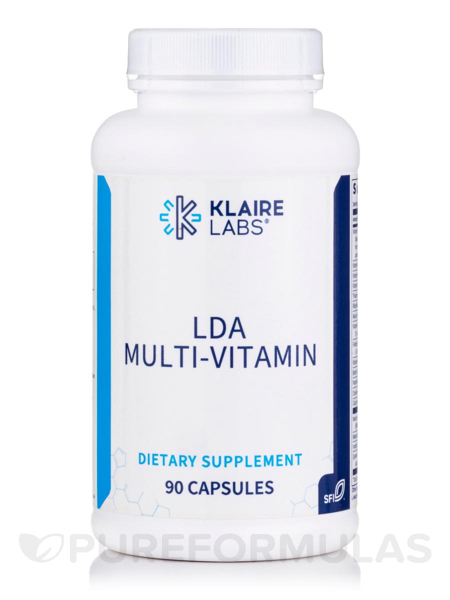 LDA Multi-Vitamin - 90 Vegetarian Capsules