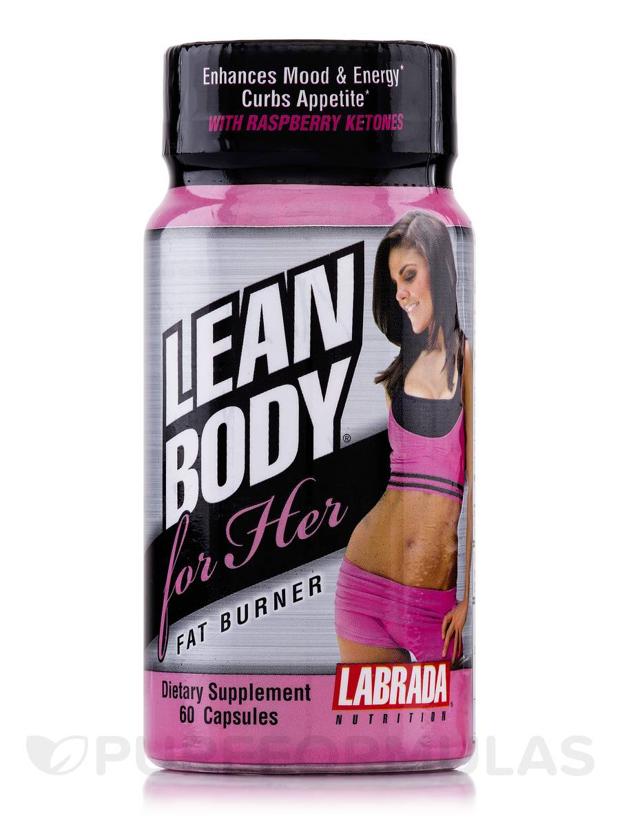 LEAN BODY for Her Fat Burner - 60 Capsules