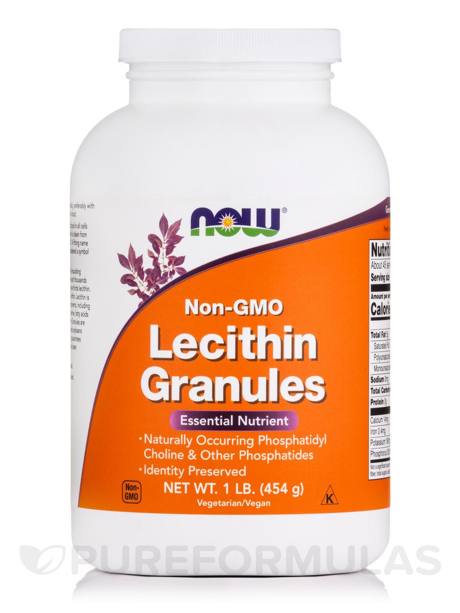 Lecithin Granules (Non-GMO) - 1 lb (454 Grams)