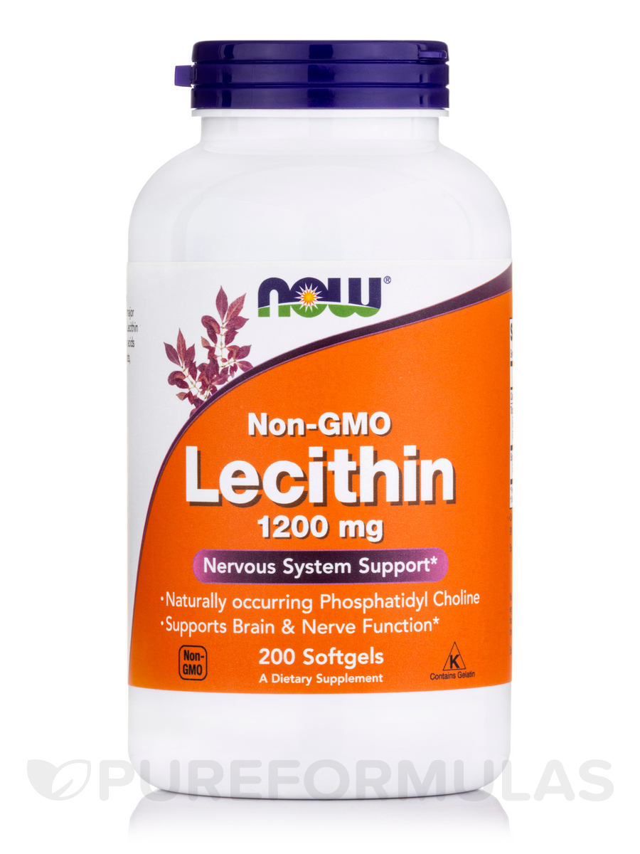 Lecithin (Non-GMO) 1200 mg - 200 Softgels