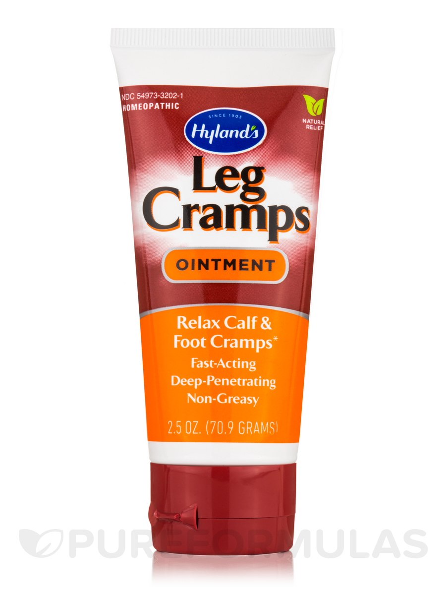 Leg Cramps Ointment - 2.5 oz (70.9 Grams)