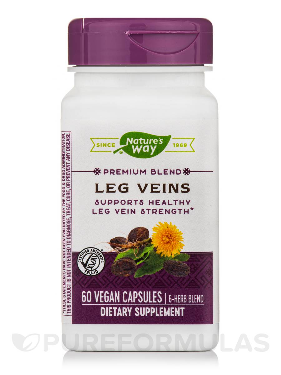 Leg Veins 435 mg with Tru-OPCs - 60 Capsules