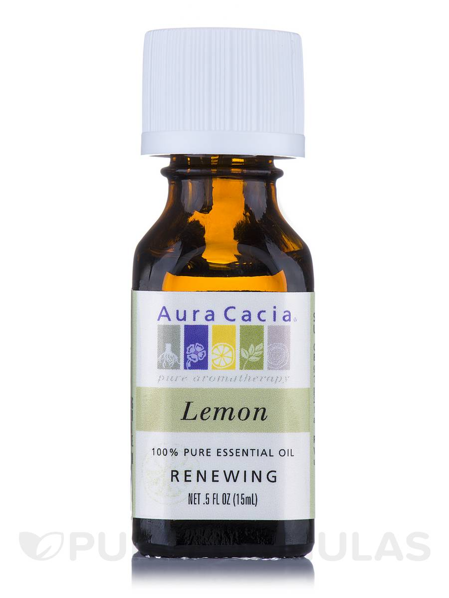 Lemon Essential Oil (Citrus x limon) - 0.5 fl. oz (15 ml)