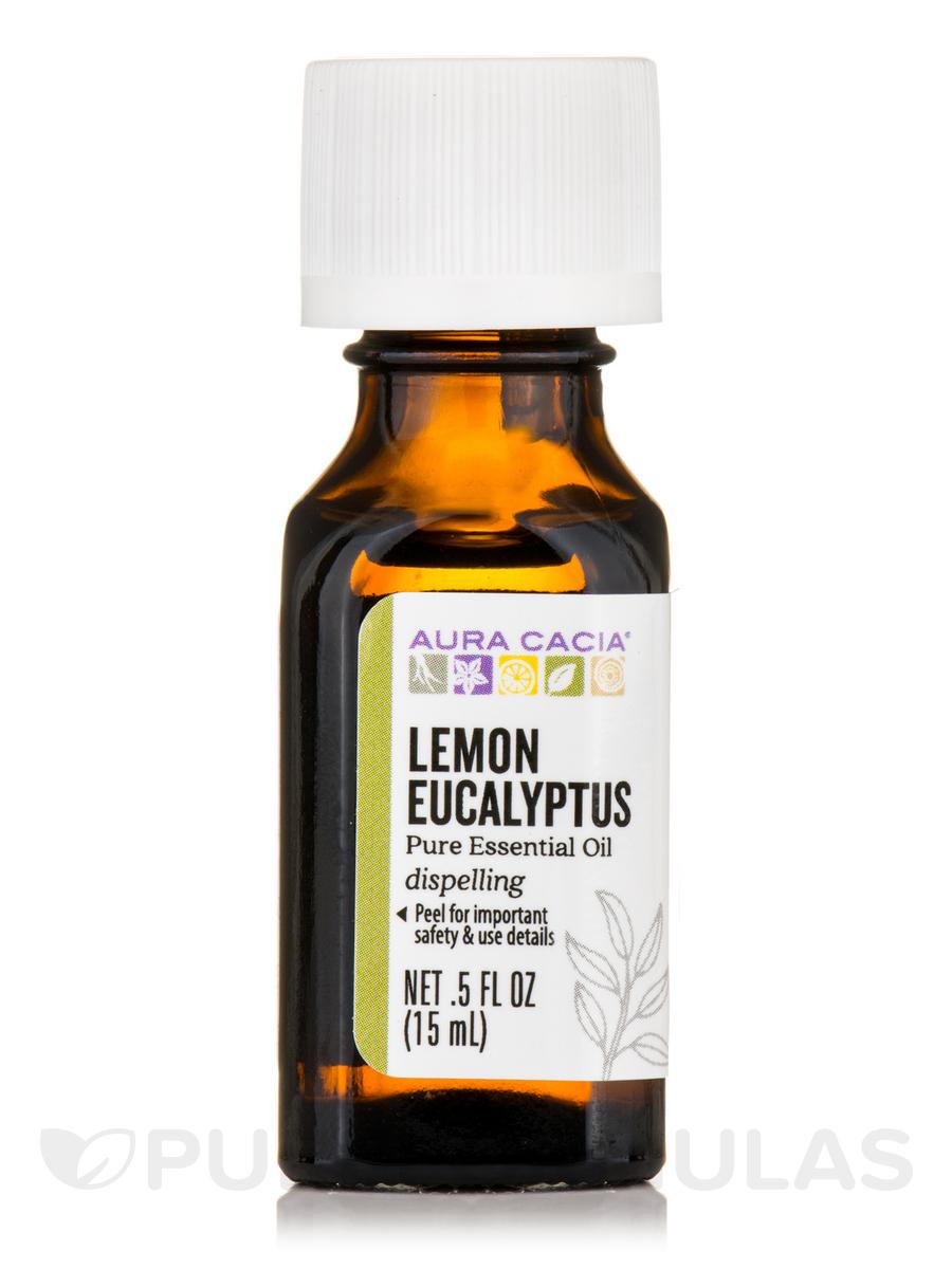 Lemon Eucalyptus Essential Oil (Eucalyptus citriodora) - 0.5 fl. oz (15 ml)