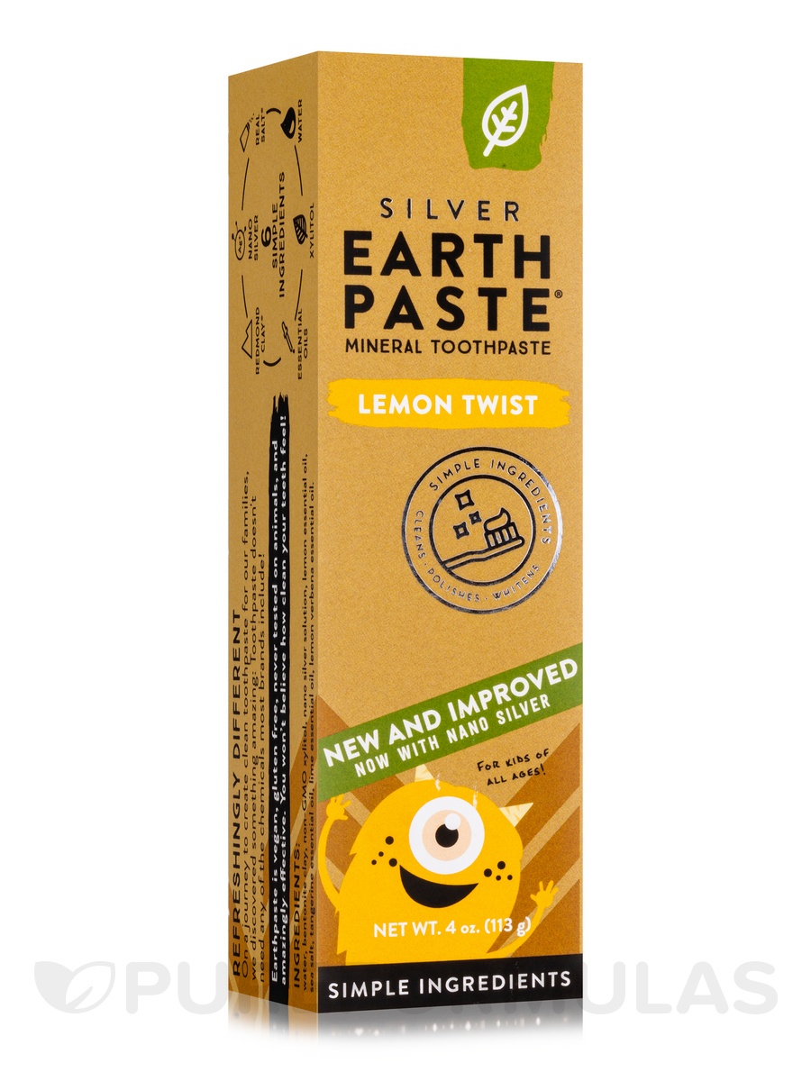 Lemon Twist Toothpaste - 4 oz (113 Grams)