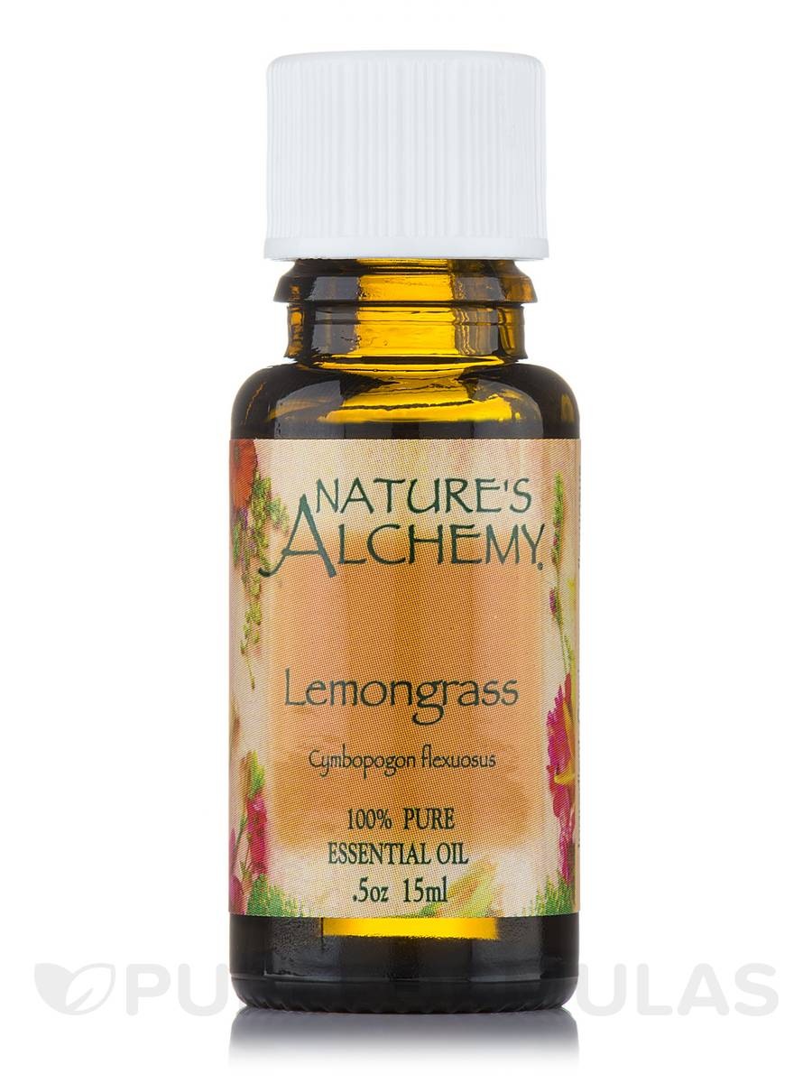 Lemongrass Pure Essential Oil - 0.5 oz (15 ml)