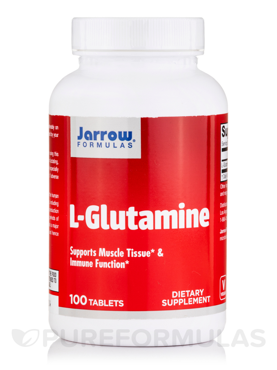 L-Glutamine 1000 mg - 100 Tablets