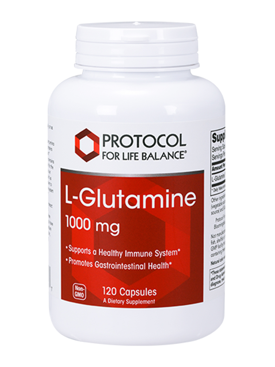 L-Glutamine 1000 mg (Extra Strength) - 120 Capsules