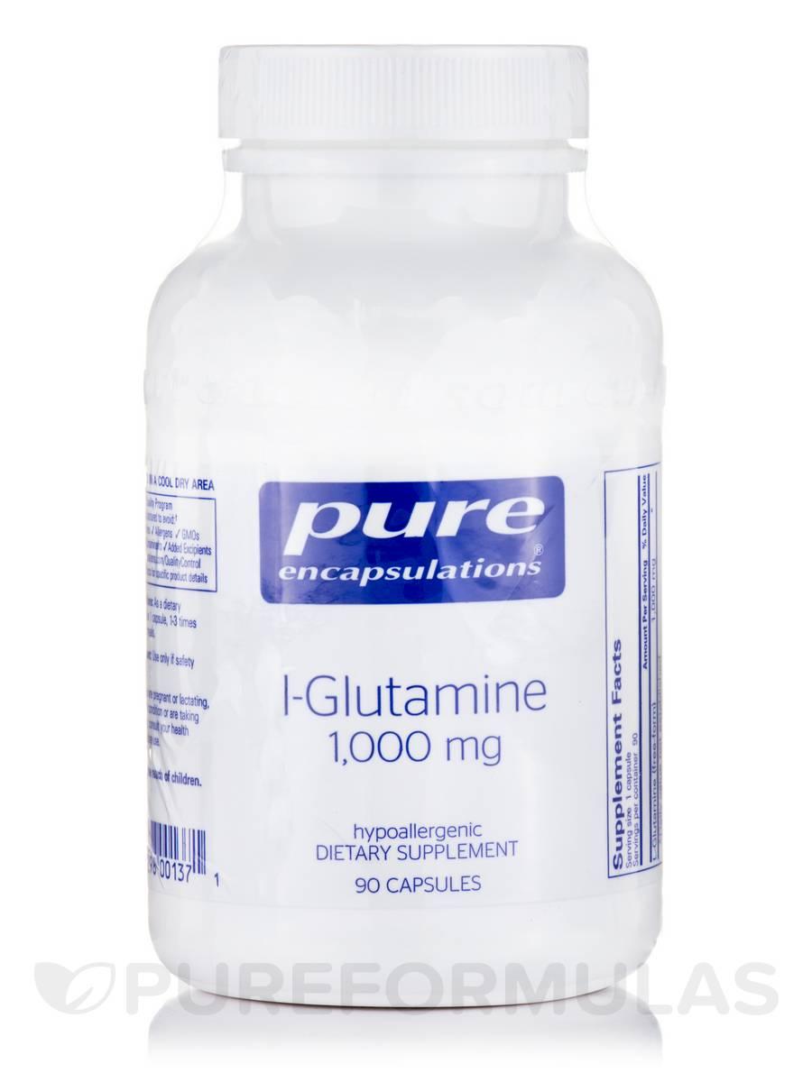 l-Glutamine 1,000 mg - 90 Capsules