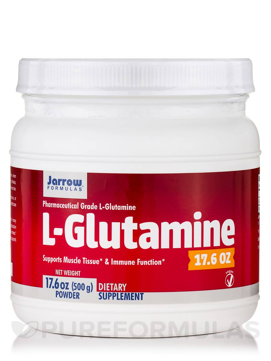L-Glutamine - 17.6 oz (500 Grams)