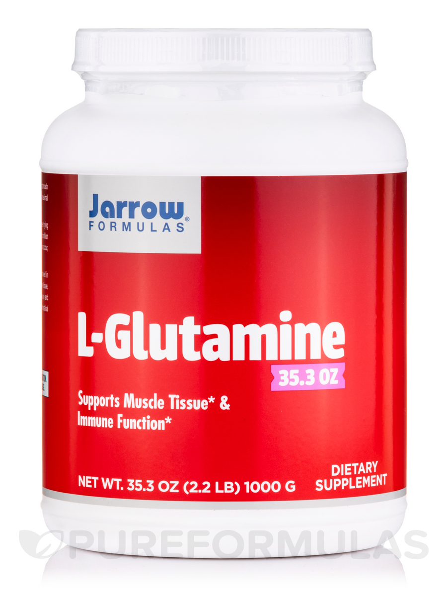 L-Glutamine - 35.3 oz (1000 Grams)