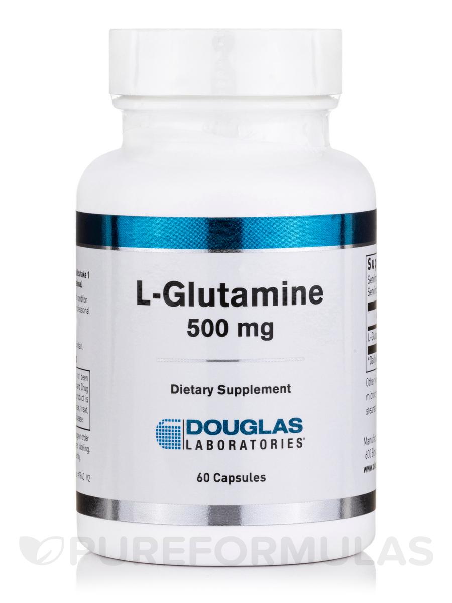 L-Glutamine 500 mg - 60 Capsules