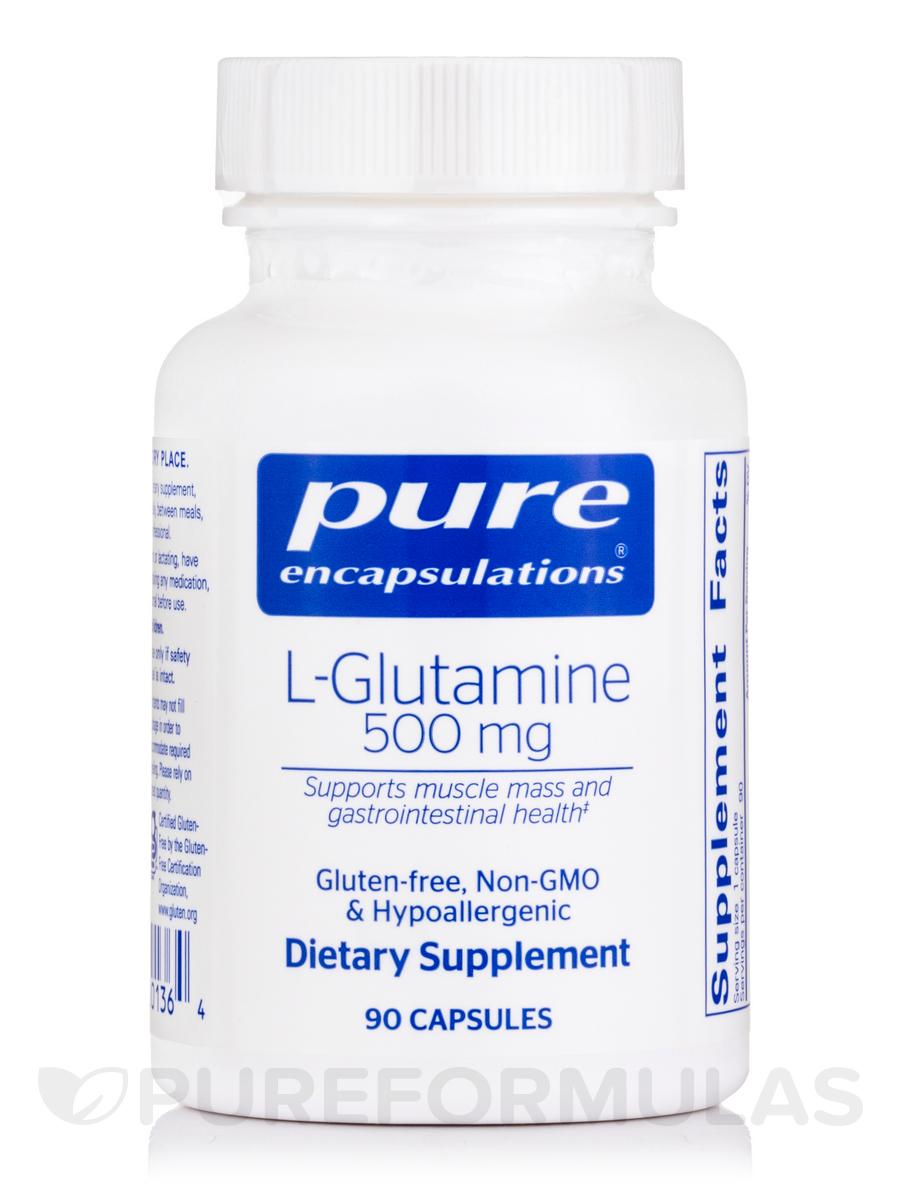 l-Glutamine 500 mg - 90 Capsules