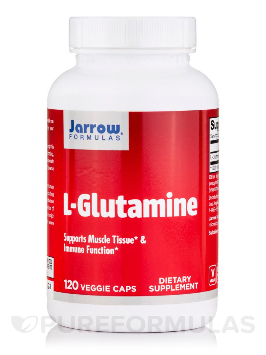 L-Glutamine 750 mg - 120 Capsules