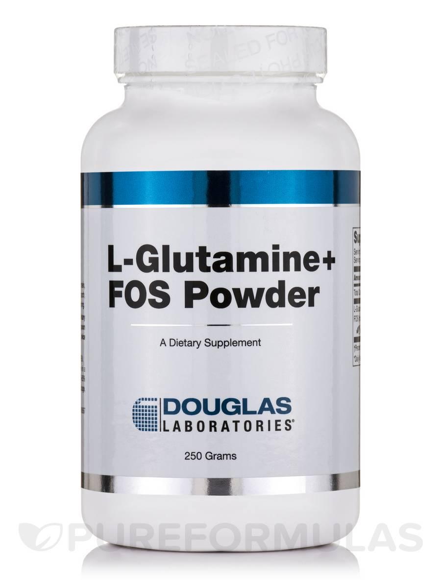 L-Glutamine + FOS Powder - 250 Grams