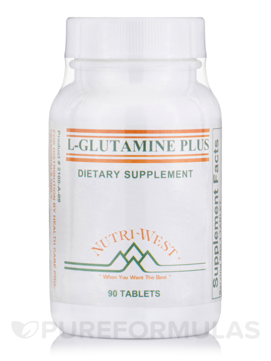 L-Glutamine Plus - 90 Tablets