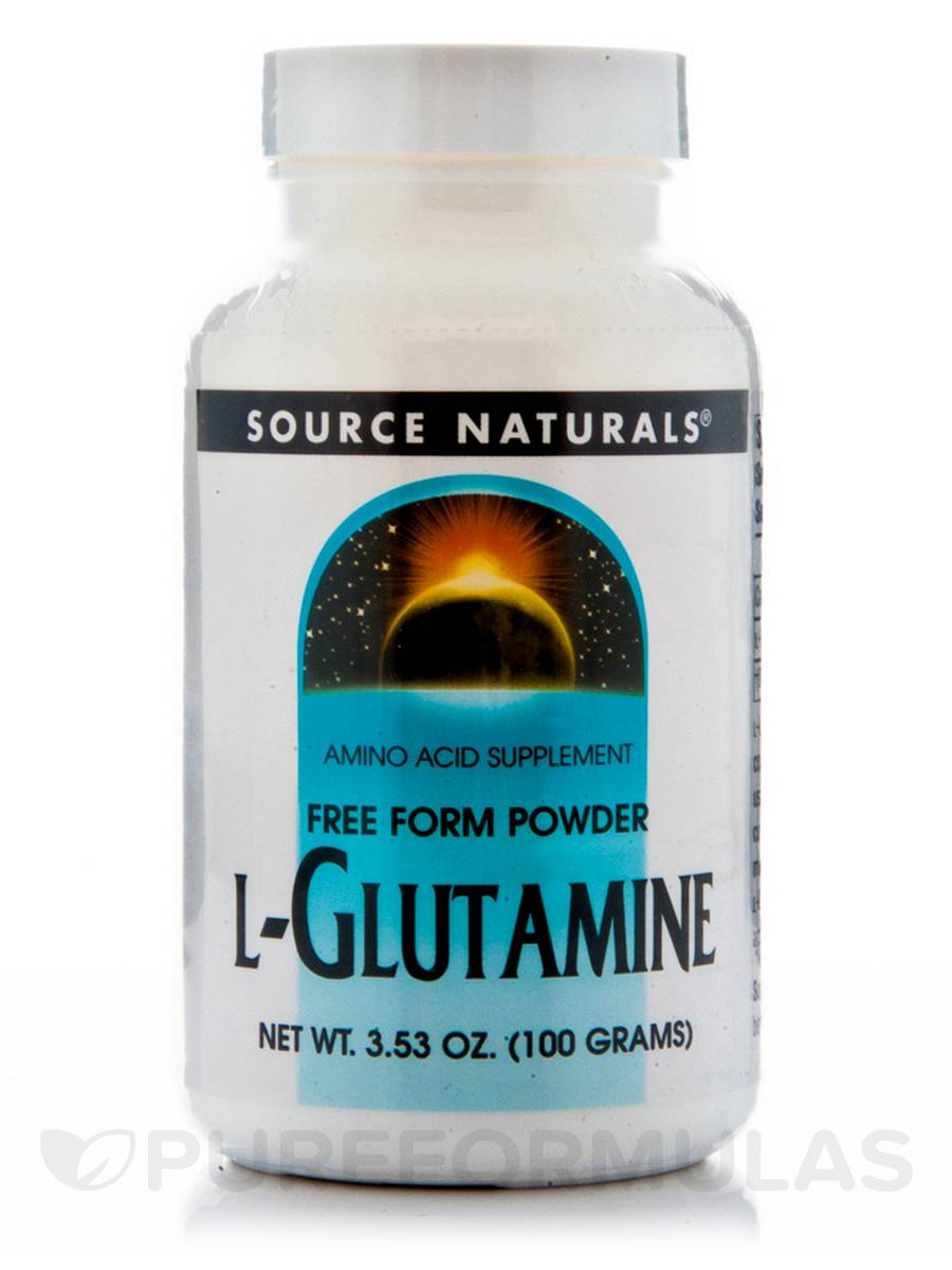 L-Glutamine Powder - 3.53 oz (100 Grams)
