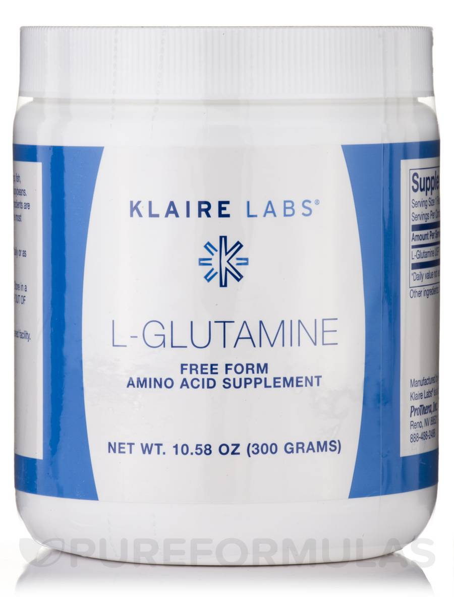 L-Glutamine Powder - 10.58 oz (300 Grams)