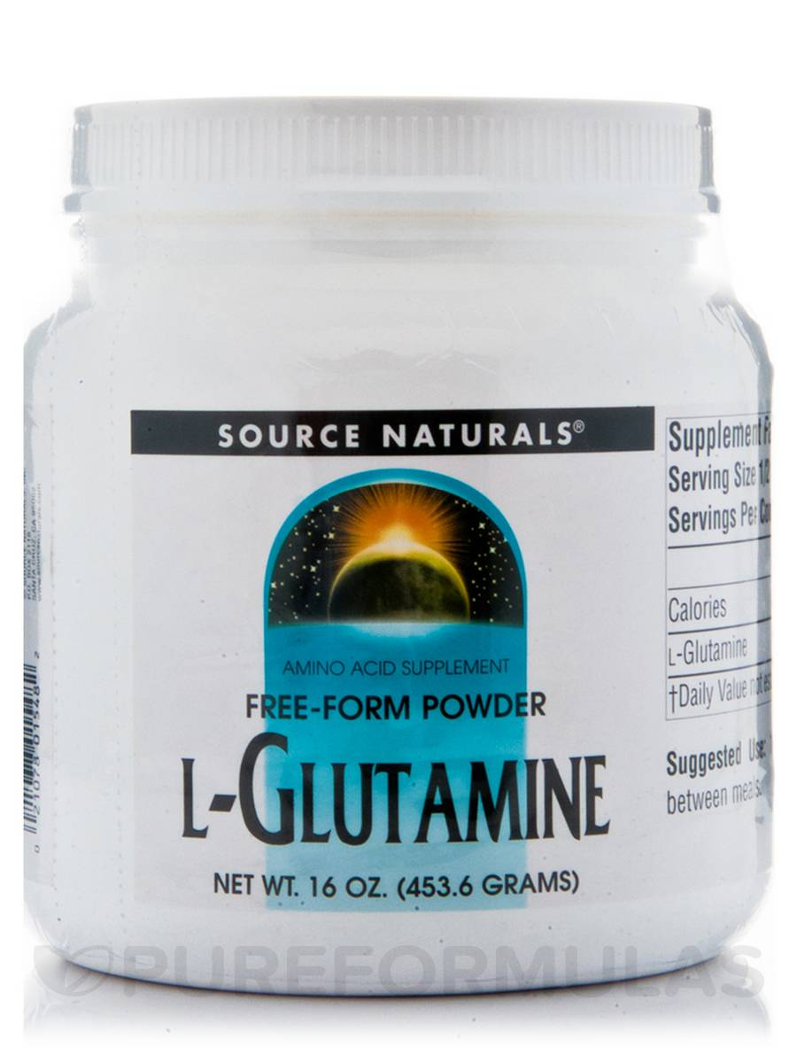 L-Glutamine Powder - 16 oz (453.6 Grams)