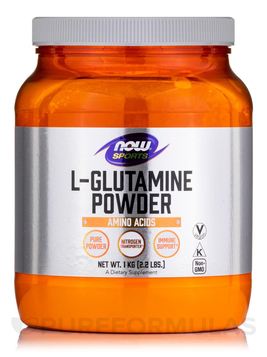 NOW® Sports - L-Glutamine Powder - 2.2 lbs (1 kg)