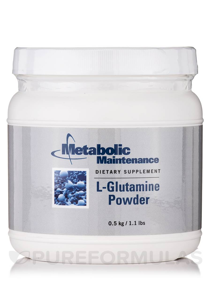L-Glutamine Powder - 1.1 lb (0.5 kg)
