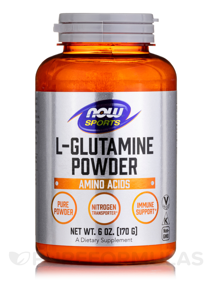 NOW® Sports - L-Glutamine Powder - 6 oz (170 Grams)