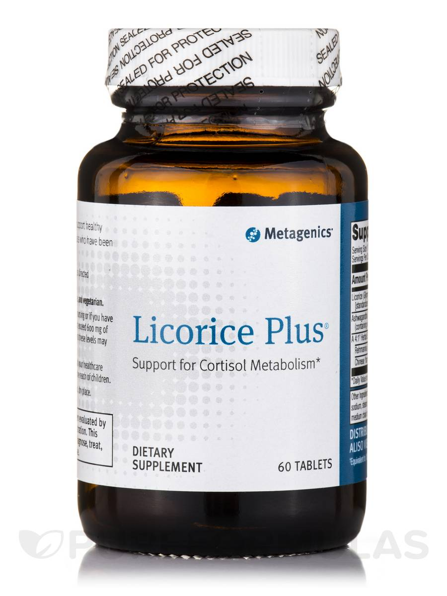 Licorice Plus® - 60 Tablets