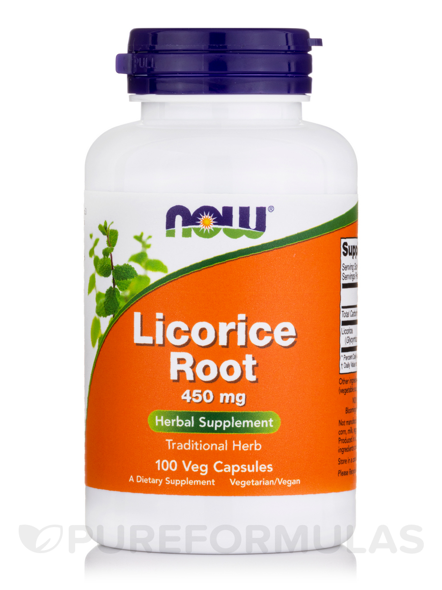Licorice Root 450 mg - 100 Capsules
