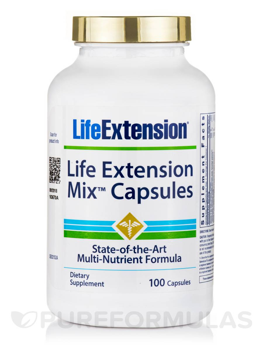 Life Extension Mix™ - 100 Capsules